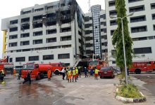 Photo of Fire guts office of Nigeria's Accountant-General in Abuja (Photos)