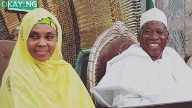 Photo of Kano governor Ganduje, wife Hafsat test negative for COVID-19