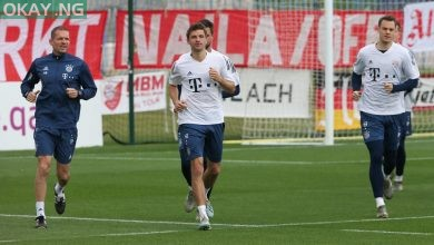 Photo of Bayern Munich resume training today despite COVID-19 pandemic