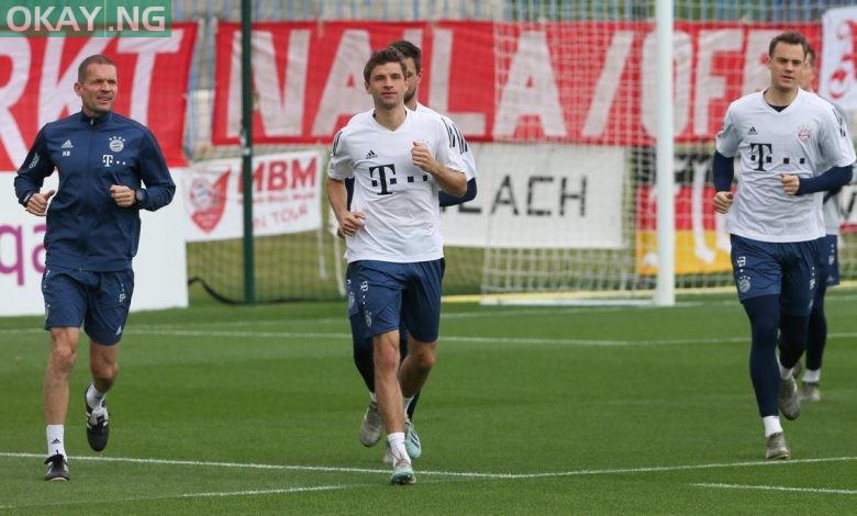 Photo of Bayern Munich resume training today despite COVID-19 pandemic