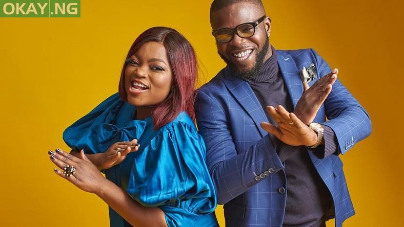 Funke Akindele and husband, JJC Skillz