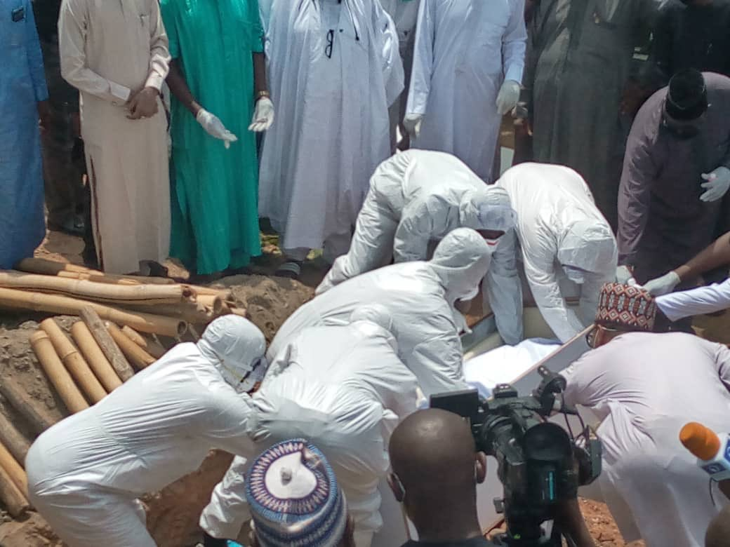 Photo of Abba Kyari's Burial: Presidential Task Force apologises to Nigerians over violations