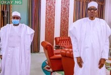 Photo of [Photos] Buhari, Tambuwal meet over recent attacks in Sokoto