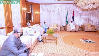 Photo of [Photos] Buhari receives report from PTF on COVID-19