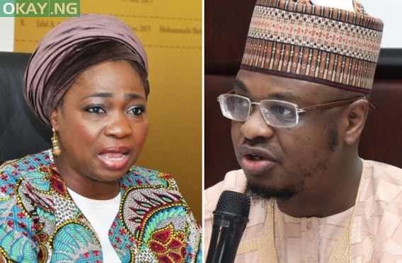 Photo of Dabiri-Erewa, Pantami fight on Twitter over office space