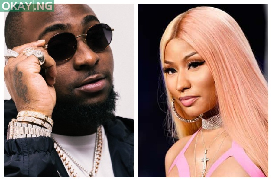 Photo of Davido announces collaboration with Nicki Minaj — to release new album in July