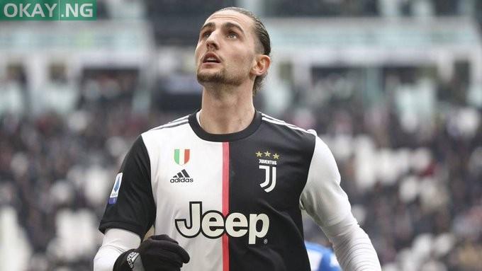 Photo of Mikel Arteta identifies Juventus midfielder Adrien Rabiot as summer transfer target