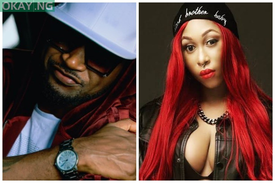 Photo of Peter Okoye writes Cynthia Morgan, speaks on her failed contract with brother