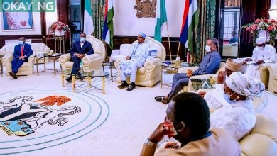 Photo of [Photos] Buhari receives AfDB president, Adesina in Aso Rock