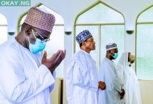 Photo of [Photo News] Buhari attends Juma'at prayers in Aso Villa Mosque