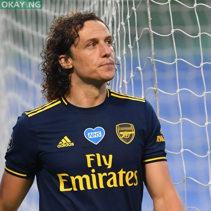Photo of David Luiz pens one-year contract extension with Arsenal Fc