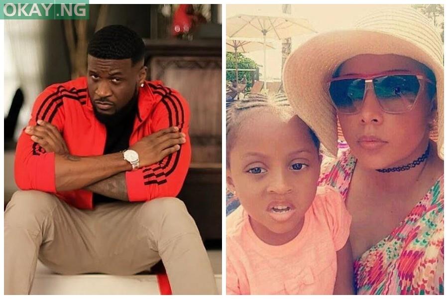 Peter Okoye, Lola Omotayo and Aliona