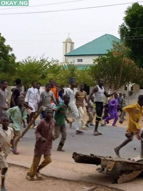 Photo of Insecurity: Katsina residents protest continued attacks by bandits [Photos]
