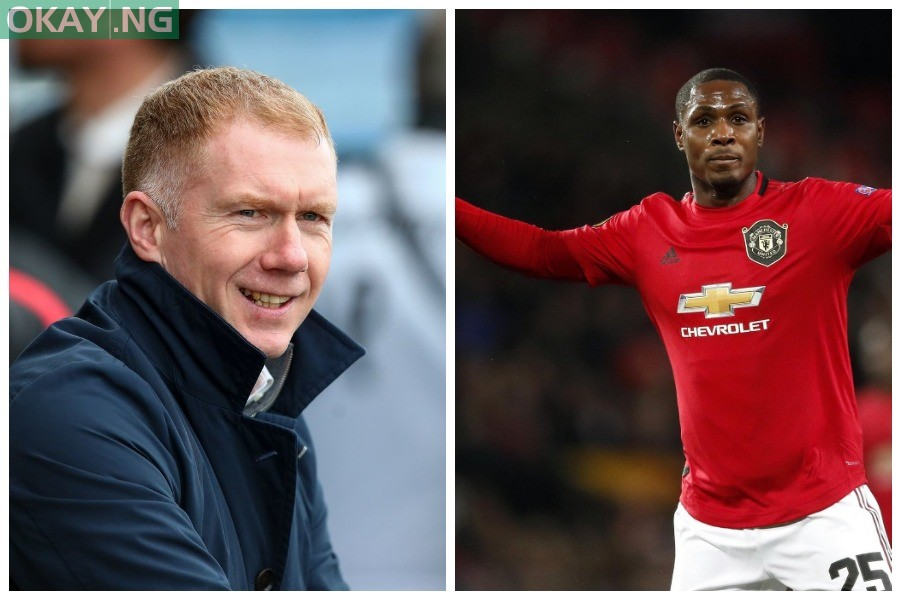 Paul Scholes and Odion Ighalo