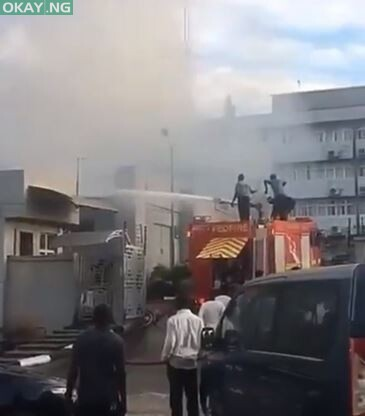 Photo of JUST IN! Fire guts new FIRS building in Katsina
