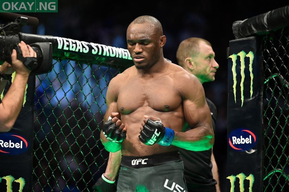 Photo of Buhari praises Usman on retaining UFC welterweight title