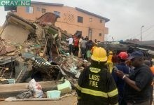 Photo of Police officer, two others killed as building collapses in Lagos