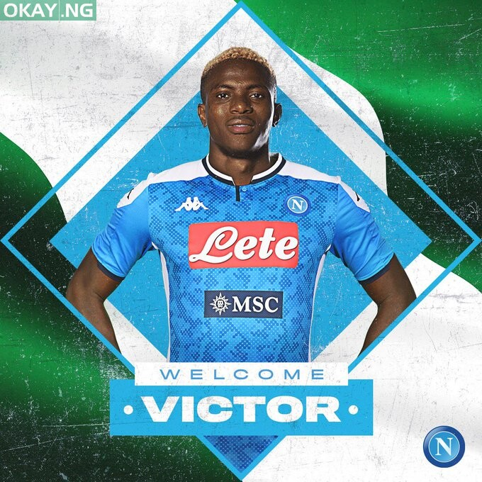Photo of Osimhen completes move to Napoli from Lille