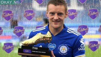 Photo of Leicester's Vardy wins Premier League Golden Boot