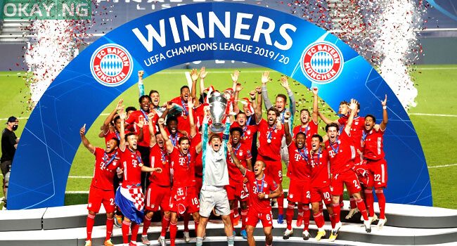 Photo of Bayern beat PSG to win 2019/2020 UEFA Champions League title