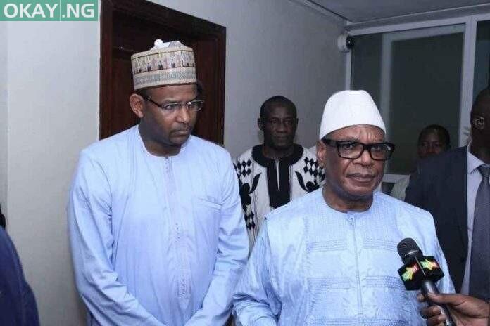 Boubou Cisse and Ibrahim Boubacar Keita