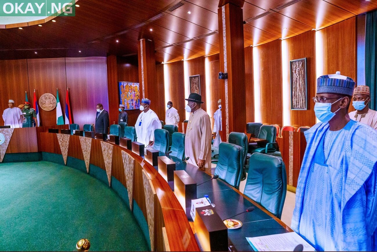 Photo of Buhari presides over Council of State Meeting in Aso Villa