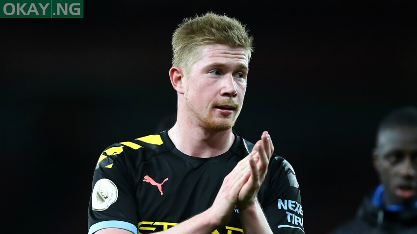 Photo of De Bruyne named Premier League Player of the Season