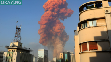 Photo of Two massive explosions hit Beirut in Lebanon