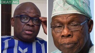 Photo of Fayose: Obasanjo will go back to prison when i become president