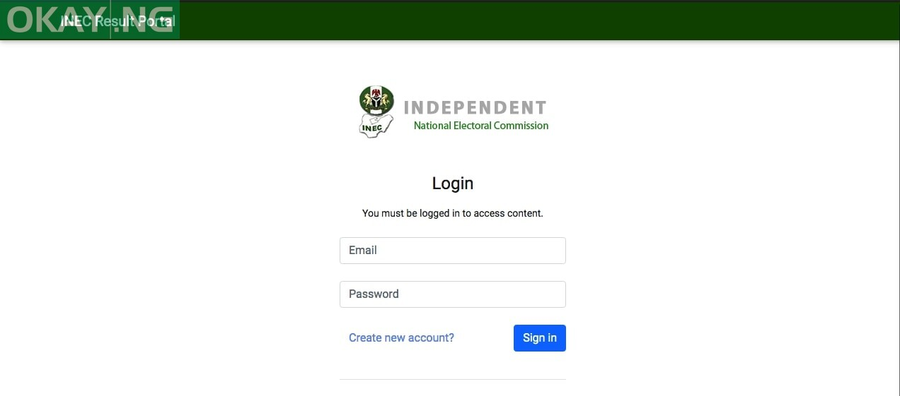 Photo of OFFICIAL: 10 steps to access INEC election result portal
