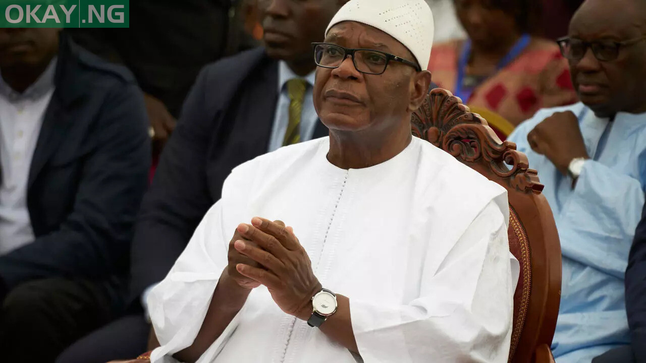 Photo of Ousted Mali president, Keita, admitted to hospital