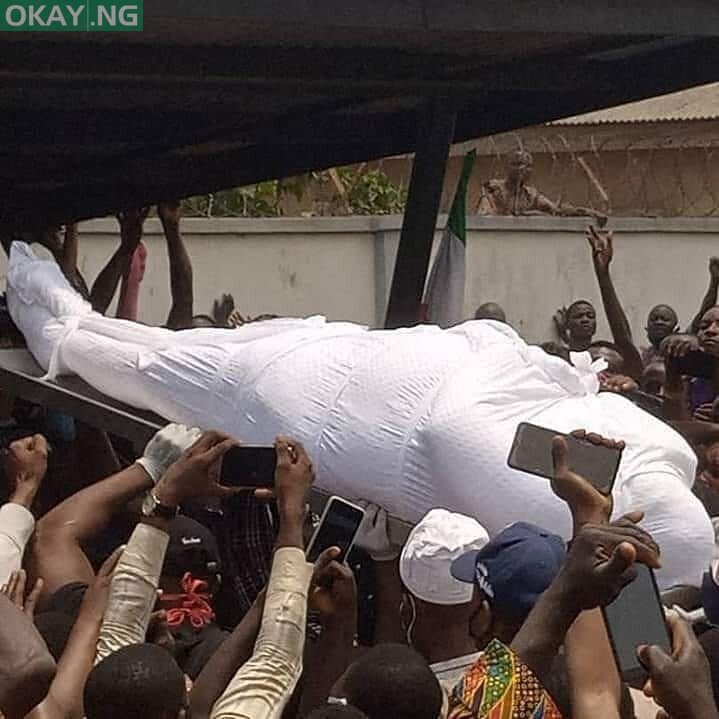 Photo of Burial of Buruji Kashamu in Ijebu Igbo [Photos/Videos]
