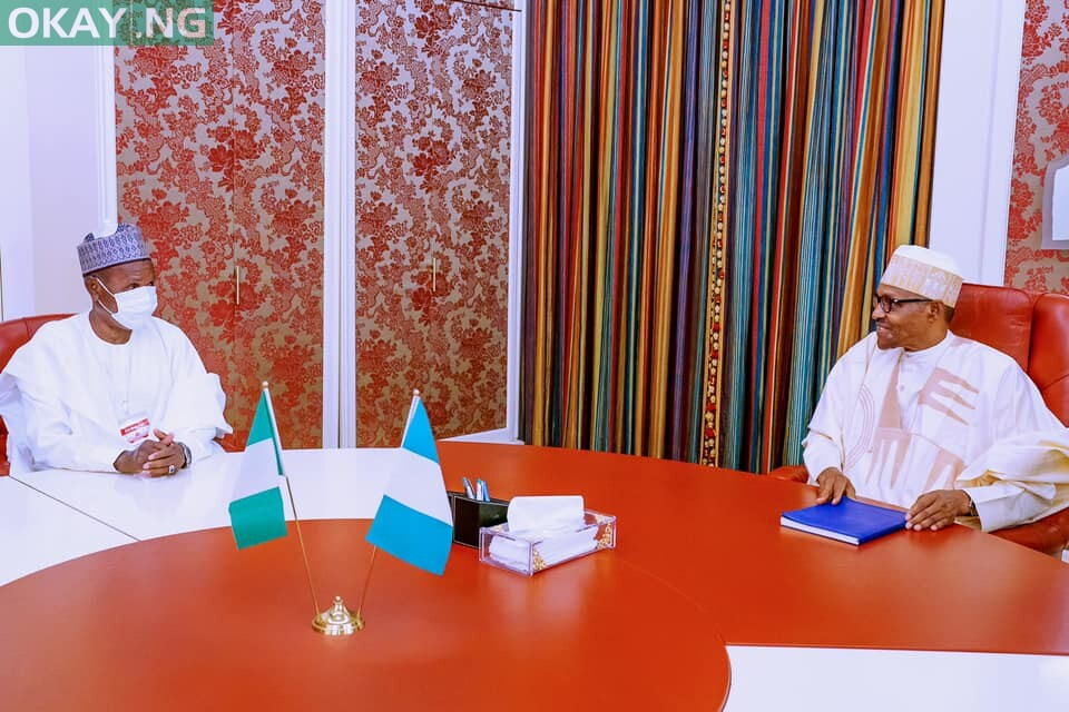 Photo of Buhari, Masari meet over Insecurity