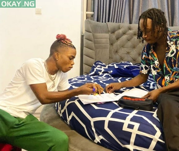 Photo of Naira Marley welcomes Lyta to his record label
