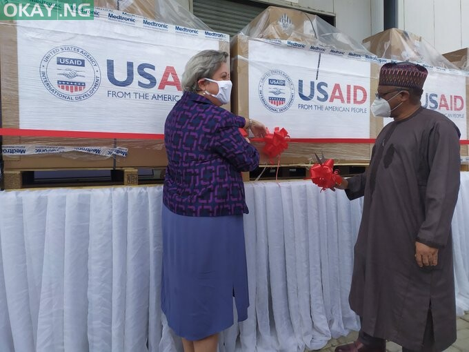Photo of Nigeria takes delivery of 200 ventilators from US [Photos]