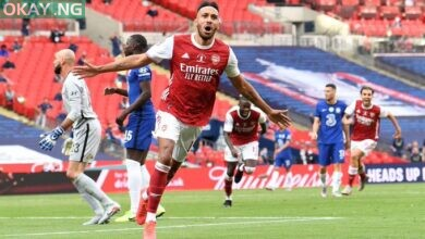 Photo of Arsenal beat Chelsea 2-1 to win FA Cup