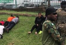 Photo of #RevolutionNow: Security operatives arrest protesters in Abuja