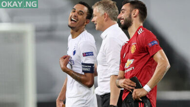 Photo of Bruno Fernandes' late penalty sends Manchester United to Europa League semi-finals