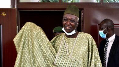 Photo of Bah Ndaw sworn in as Mali's transition president