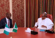 Photo of Edo 2020: Buhari congratulates Obaseki on his victory against Ize-Iyamu