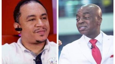 Photo of Daddy Freeze apologises for insulting Oyedepo in video