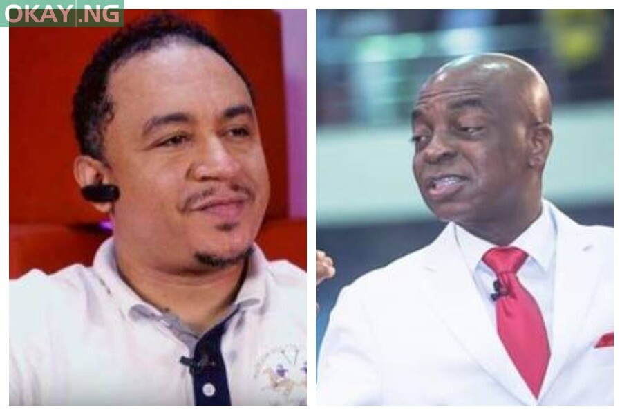 Daddy Freeze and Oyedepo
