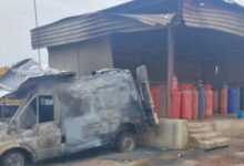 Photo of LASEMA reveals cause of gas explosion in Lagos
