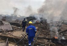 Photo of Many injured as gas explosion rocks Lagos