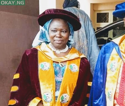 Photo of Ex-FUDMA Pro-chancellor, Prof. Marliyya Zayyan, is dead