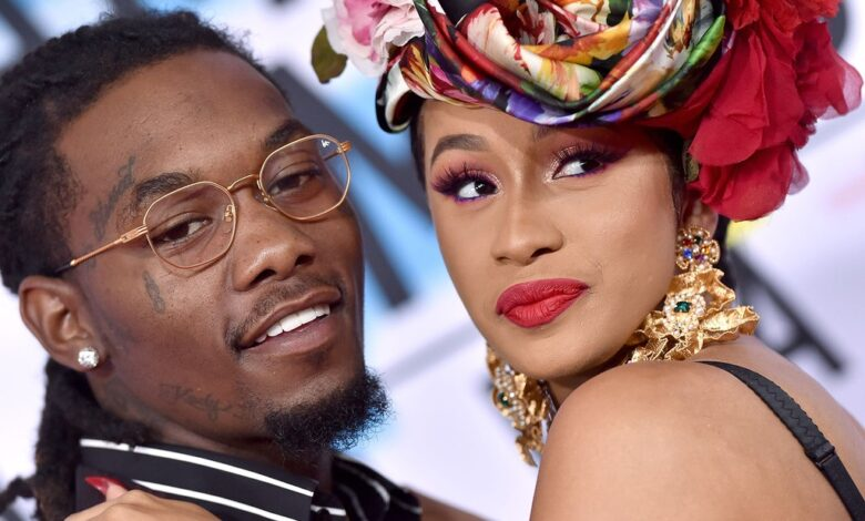Photo of Cardi B files for divorce from husband Offset