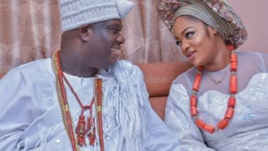 Photo of Olori Naomi, Ooni of Ife's Queen, delivers baby boy