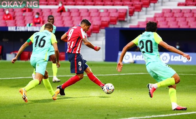 Photo of Suarez scores two goals on Atletico debut