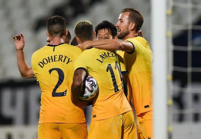 Photo of Son, Kane shine again to send Tottenham through in Europa League