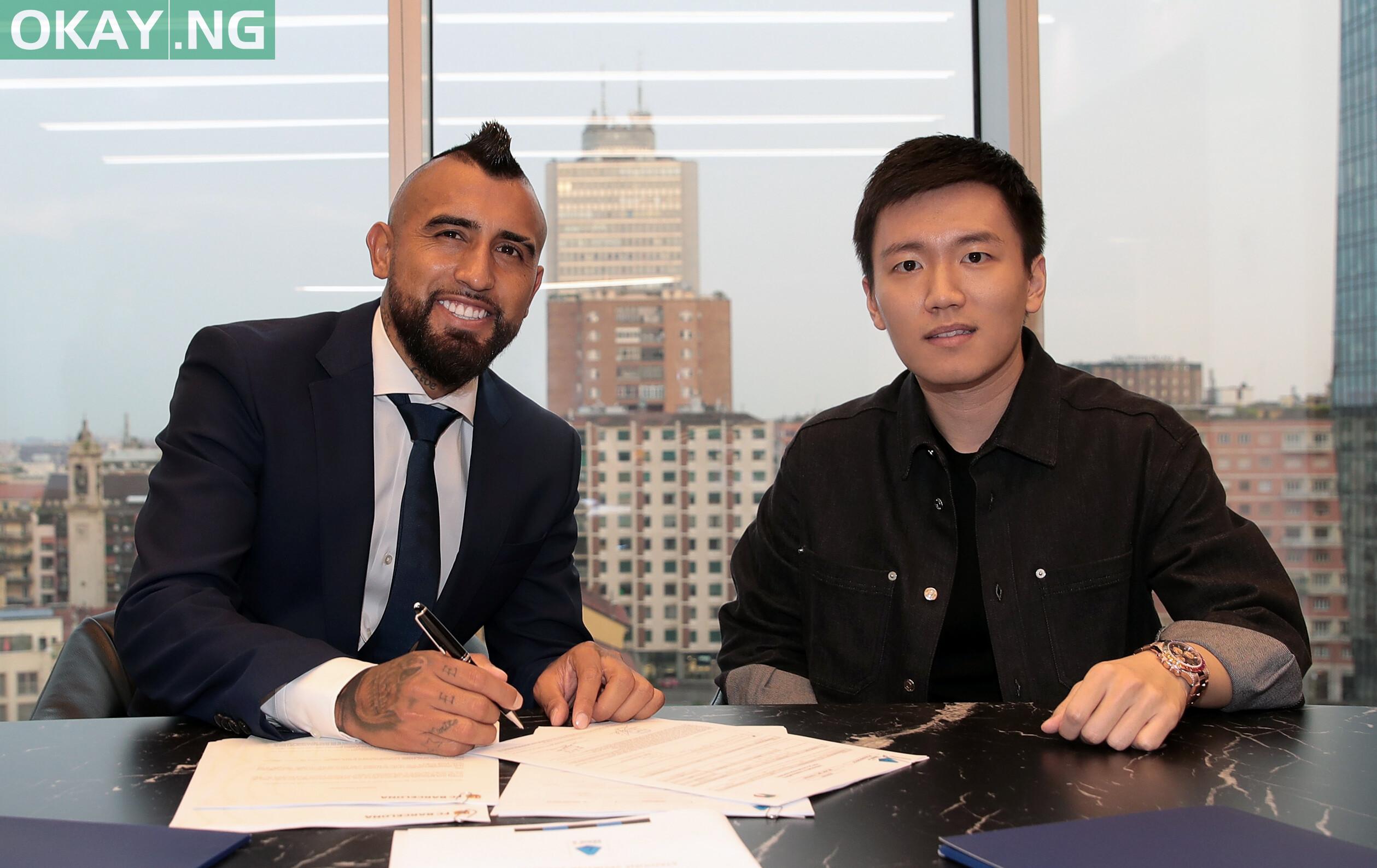 Vidal joins Inter from Barcelona